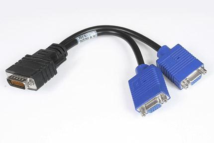 Przelotka DMS - 2 x VGA