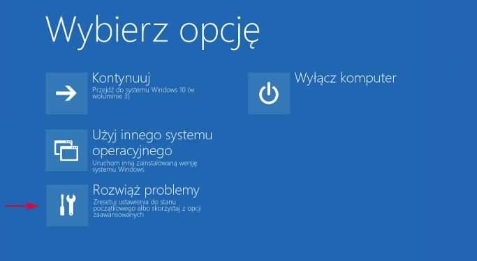 Rozwiąż problemy w Windows 10