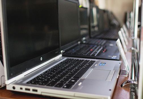 poleasingowe tanie laptopy dell, hp, siemens
