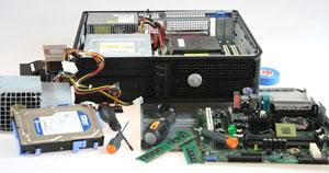 naprawa komputera podzespoły bazowe