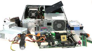 komputer podczas naprawy